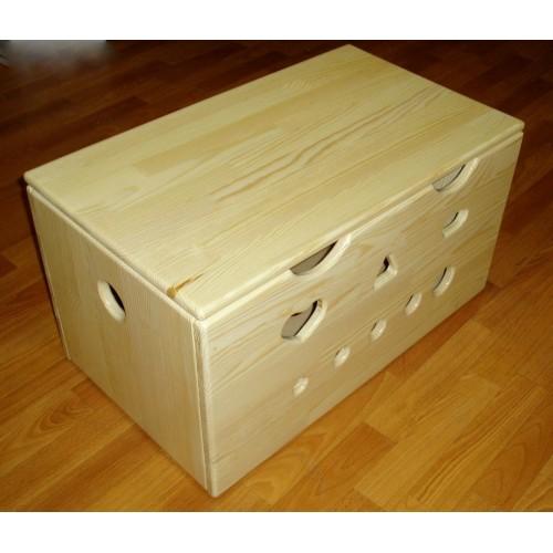 Деревянный ящик своими руками для игрушек